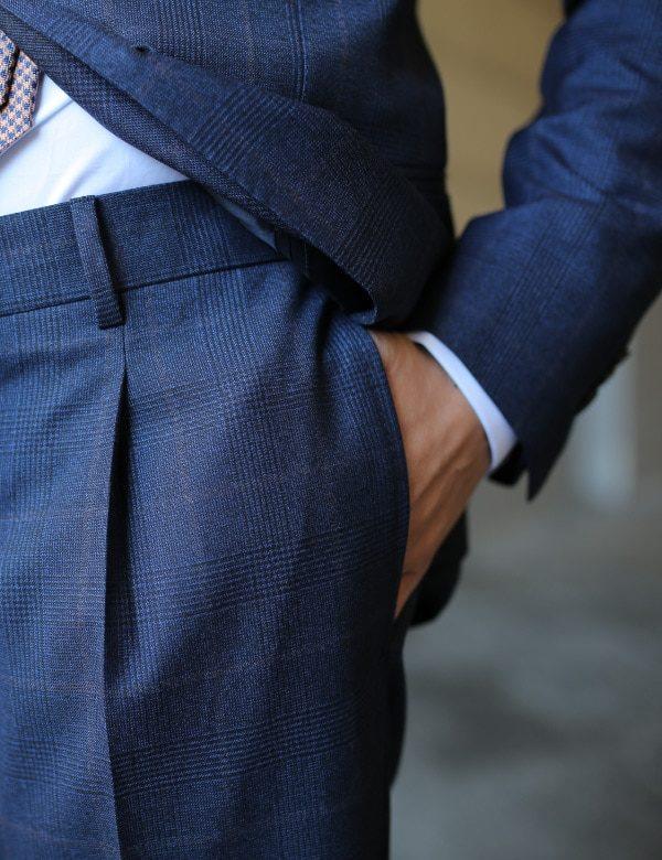 pantaloni su misura napoli