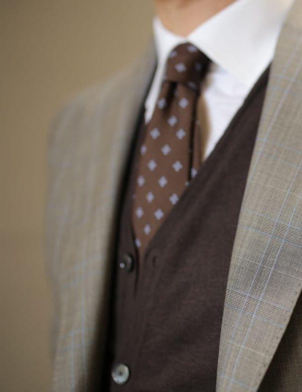 cravatta in pura seta