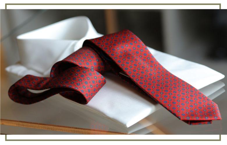 camicia e cravatta made in naples