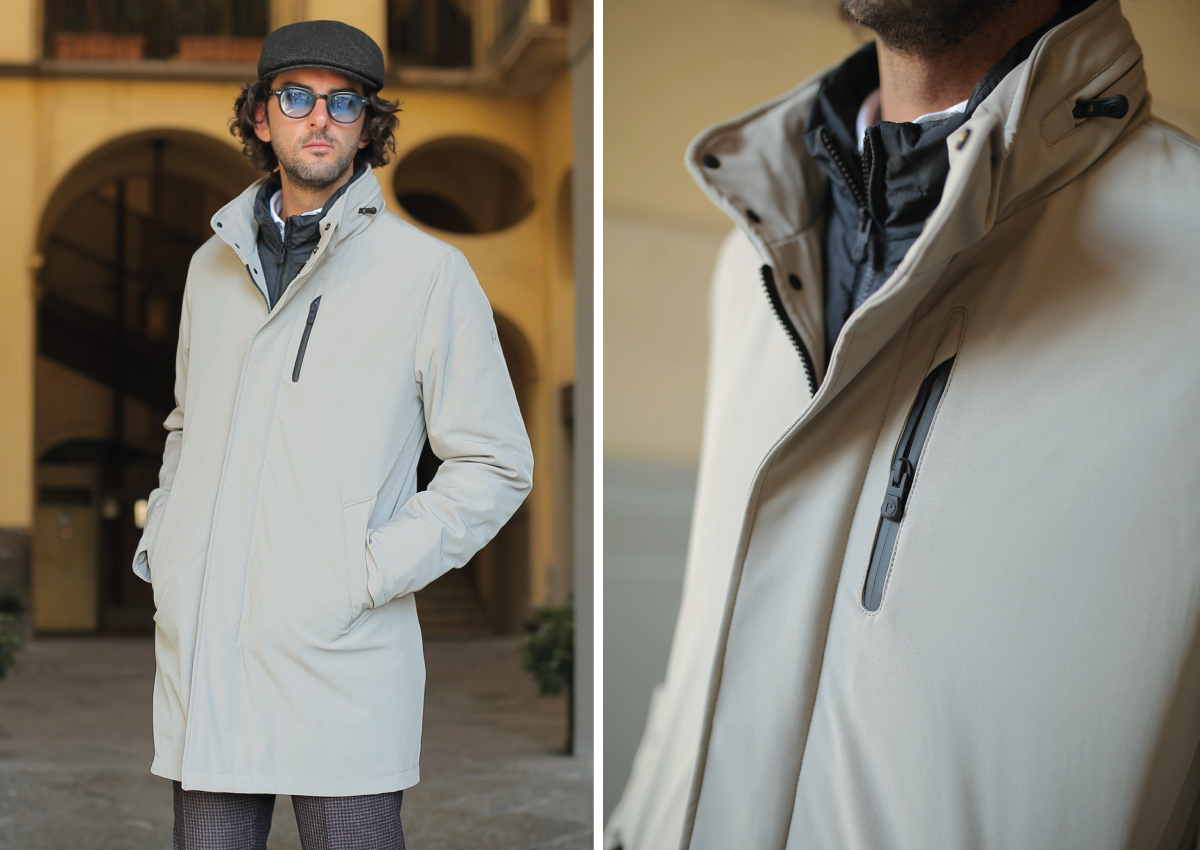 cappotto sportivo uomo