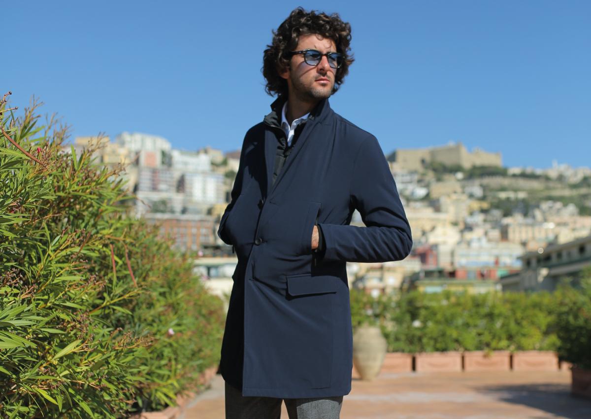 cappotto stile giacca
