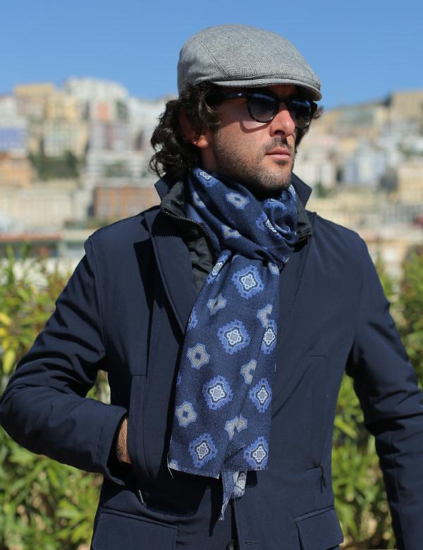 sciarpa di lana uomo