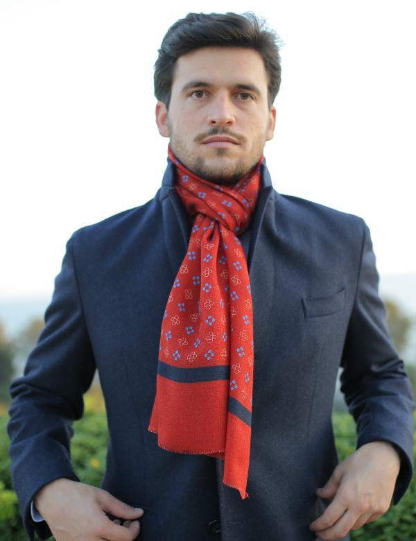 sciarpa uomo lana